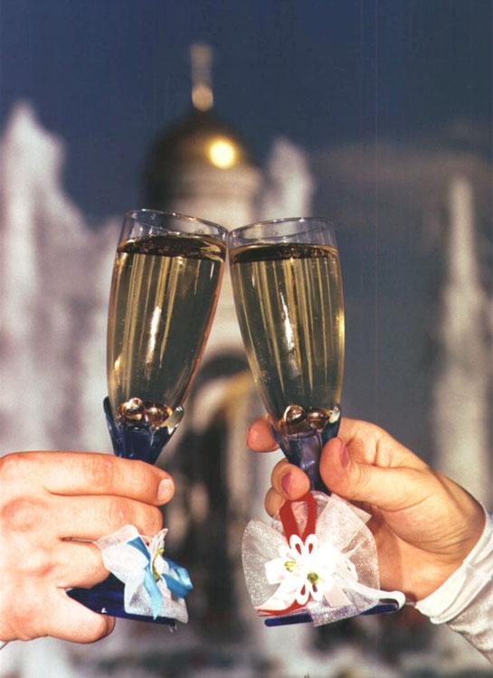 Разбила бокал до свадьбы